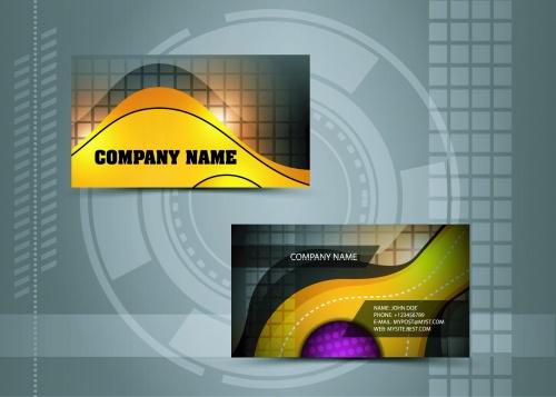 Creative Business Cads Vector