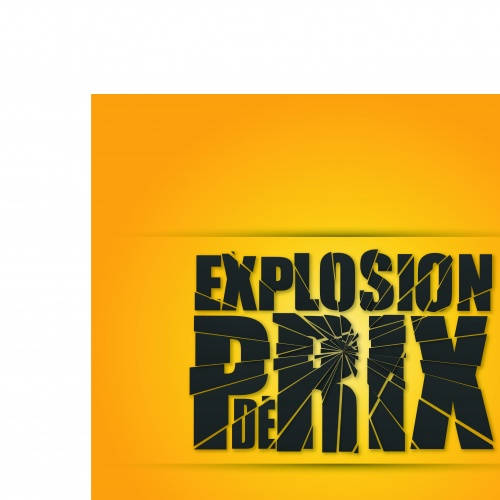 Жёлтый рекламный шаблон | Yellow advertising template vector