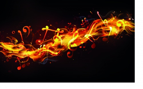 Музыка шаблоны | Music template vector