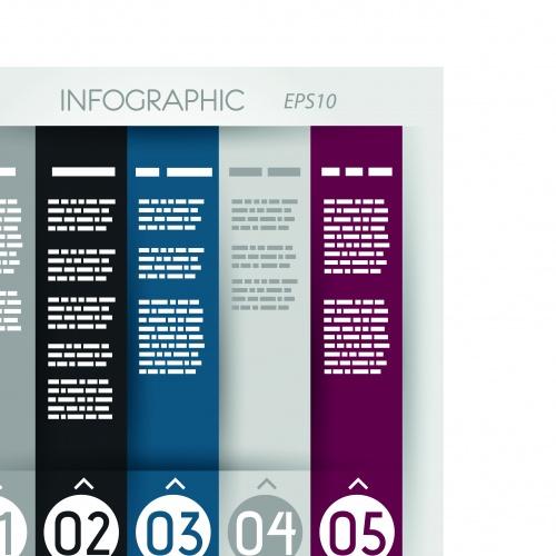 Креативные инфографики часть 22   Creative Infographics vector set 22