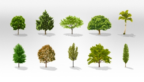 Pixeden - Trees Vector Collection Pack