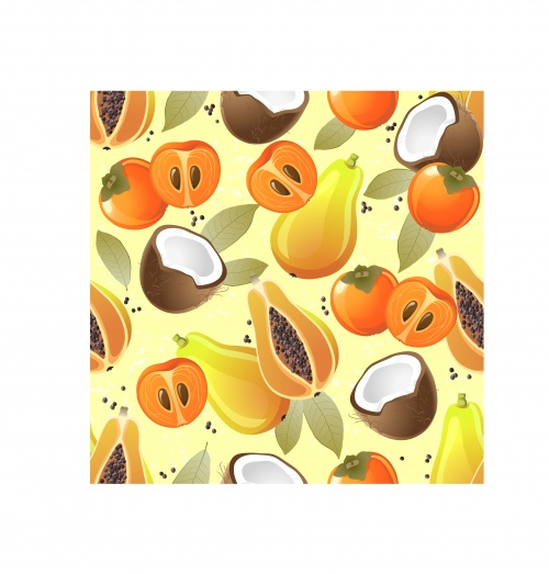 Fruit & vegetable patterns