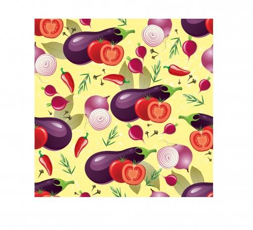 Fruit & vegetable patterns