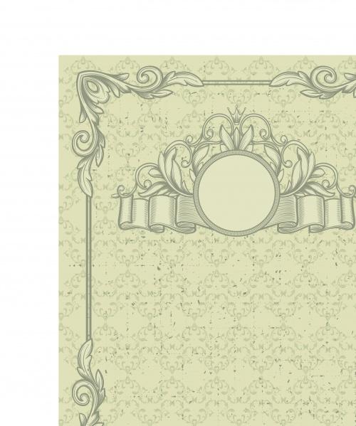 Винтажные рамки и фоны | Vintage frames and backgrounds vector