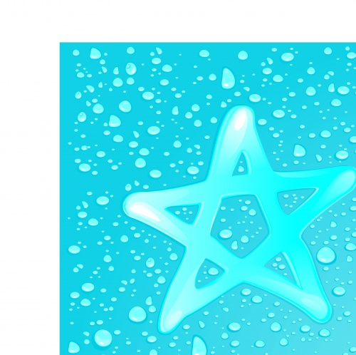 Капли воды часть 4 | Water drops vector background set 4