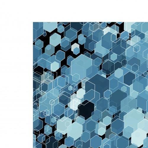 Геомертия шестиугольники фоны | Geometrical hexagon Vector background