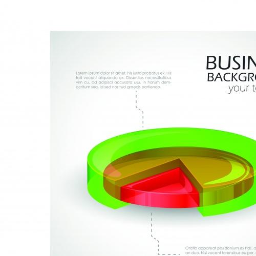 Инфографики и круглые диаграммы 2 | Infographics and charts vector set 2