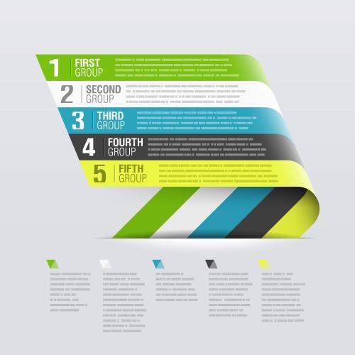 Элементы инфографики, часть 15 | Infografic elements in vector set 15
