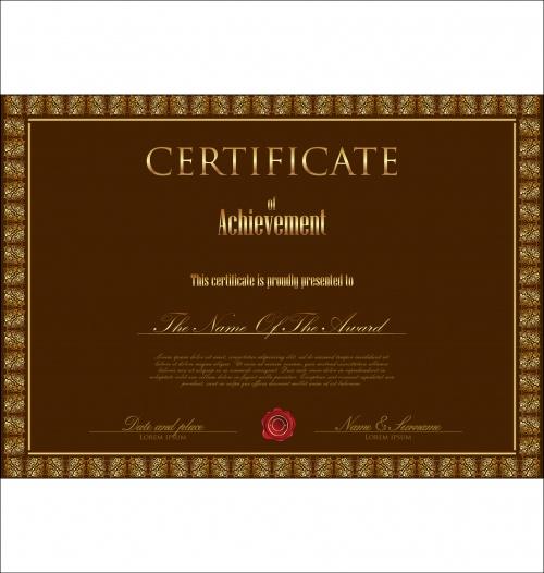 Certificate vector 12