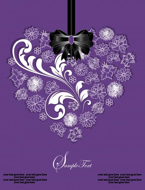 Floral invitations 2