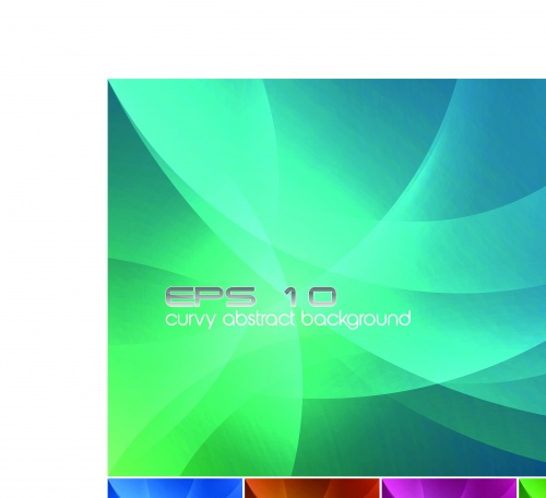 Вихрь текстуры и фоны | Swirly abstract vector backgrounds