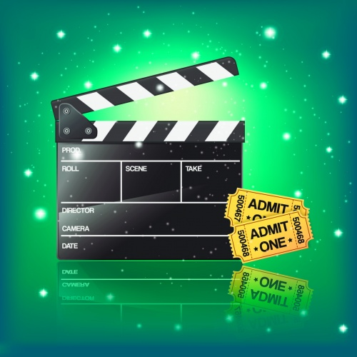 Cinema Backgrounds Vector
