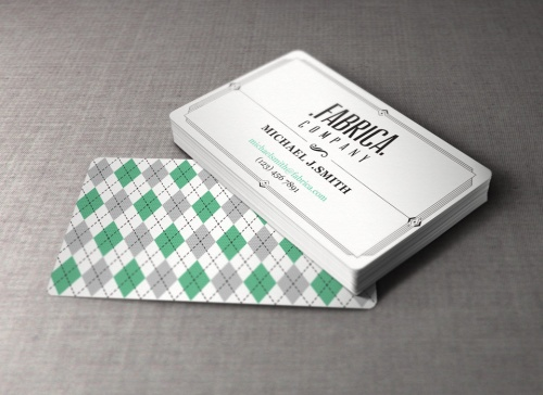 Pixeden - Retro Business Card