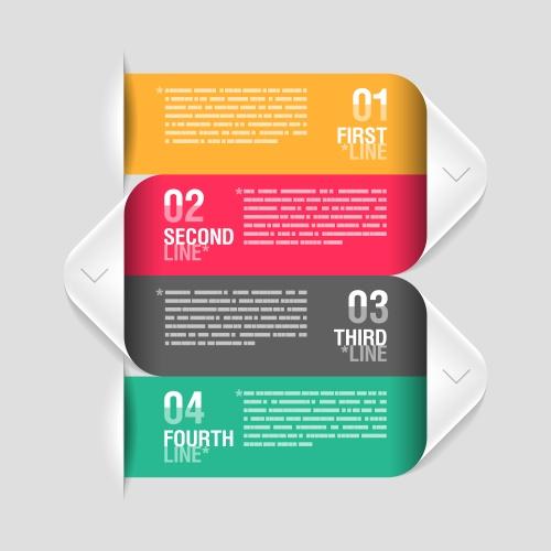 Элементы инфографики, часть 22 / Infographics design template, part 22