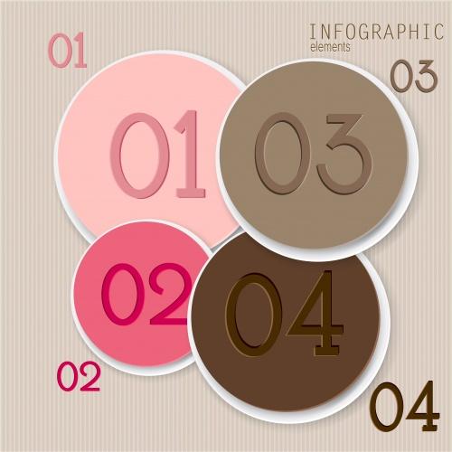 Элементы инфографики, часть 10 / Infographic design element in vector set 10