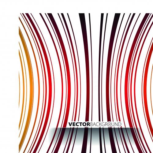 Цветные полосы фоны | Colorful striped vector background
