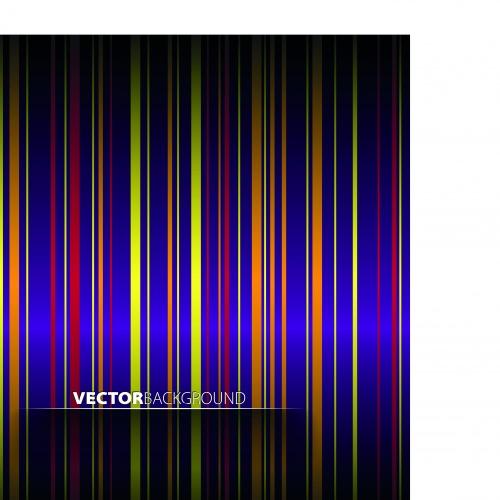Цветные полосы фоны   Colorful striped vector background