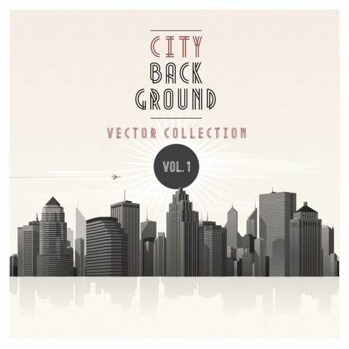 Pixeden - Vector City Skyline Vol1