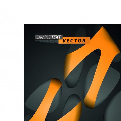 Абстракция креативный фон часть 2 | Abstract creative vector backgrounds set 2