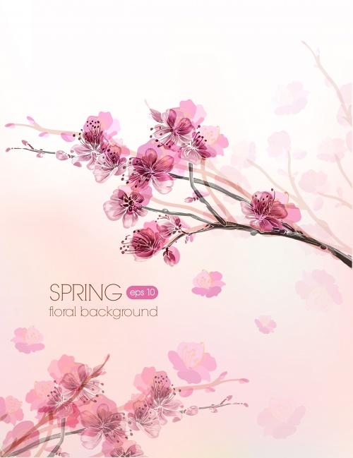 Spring floral cards 3