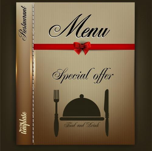Меню для ресторана и кафе в векторе / Menu design for Restaurant or Cafe in vector
