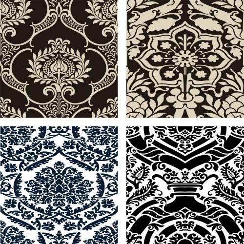 Винтажные орнаменты для меню / Vintage menu and ornaments in vector