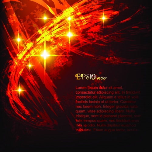 Яркий эффект звёздного света