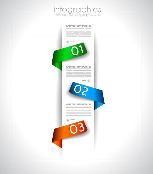 Элементы инфографики, часть 5 / Infographic design element in vector set 5