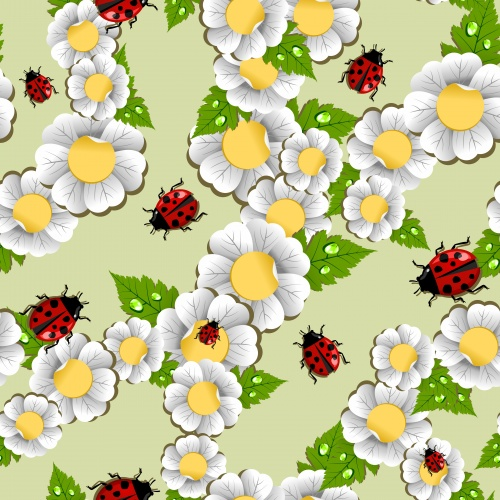 Stock: Happy Spring leaves background