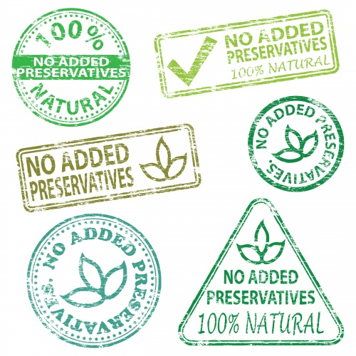 ECO, BIO, Natural & Organic Vector Labels Set #4