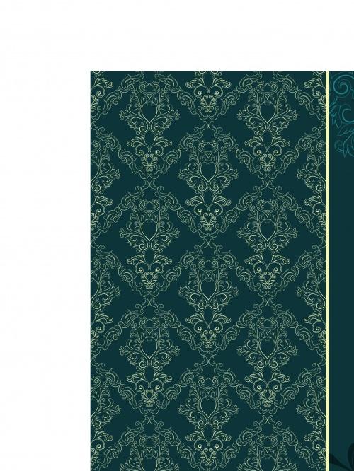 Винтажные фоны с узорами часть 5 | Vintage seamless vector backgrounds with patterns set 5