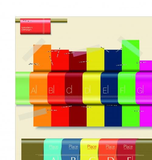 Инфографики креативный дизайн часть 14 | Infographic creative design vector set 14