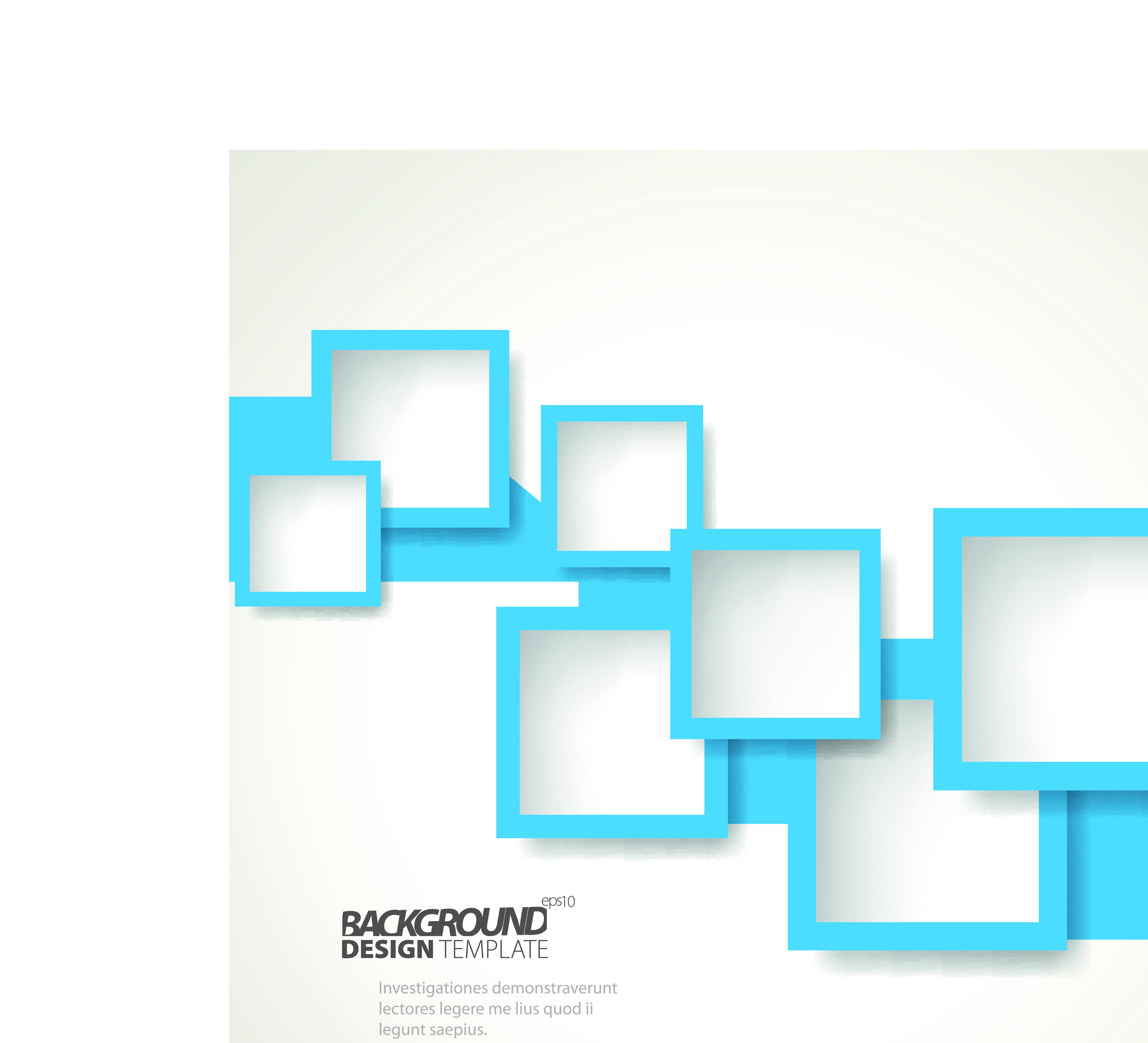 Creative abstract shapes