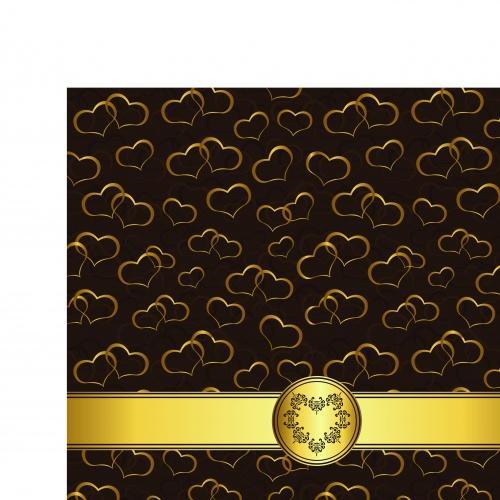 Роскошные винтажные фоны | Luxury vintage vector backgrounds