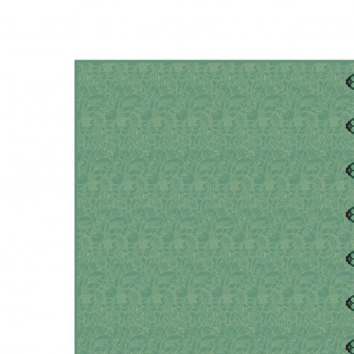 Орнамент полоса на бесшовном фоне | Ornamental stripe on seamless pattern vector background