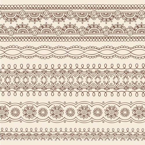 Vector stock - Винтажные векторные орнаменты / Vintage ornaments