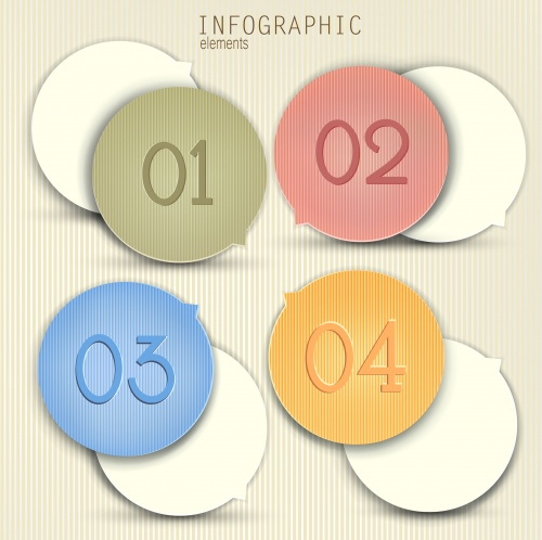 Дизайнерские элементы инфографики в векторе, часть9 | Infographic design element in vector set 9