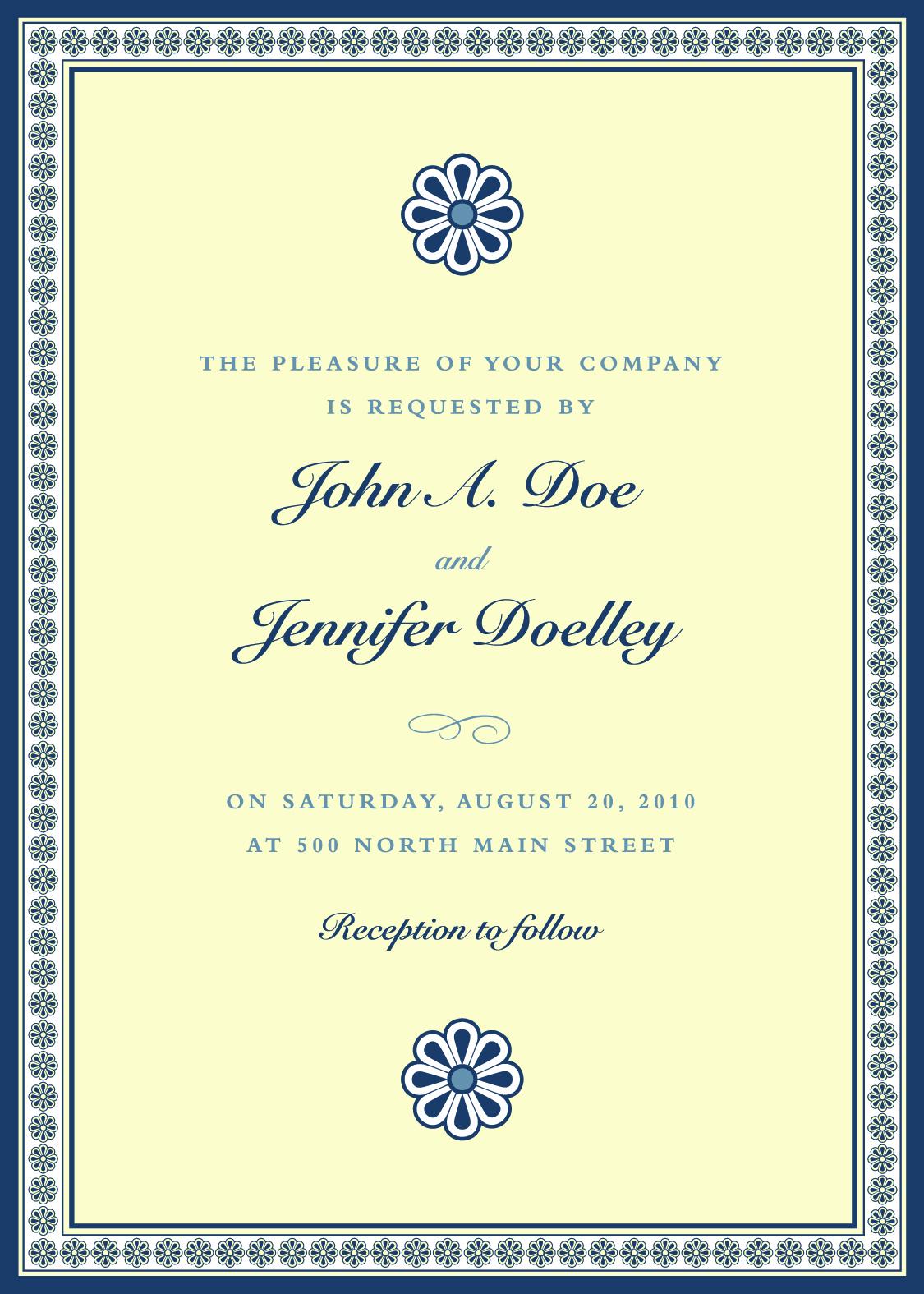 Vintage invitations 4 декабря 2014 просмотров 315