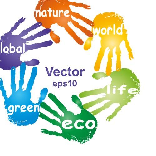 Eko concept with human hands