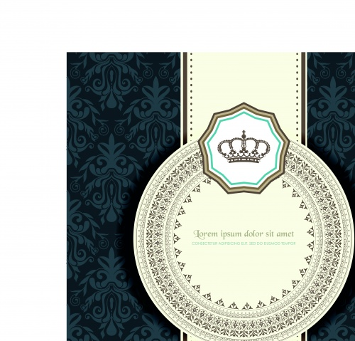 Luxury Vintage Vector Backgrounds Set 2