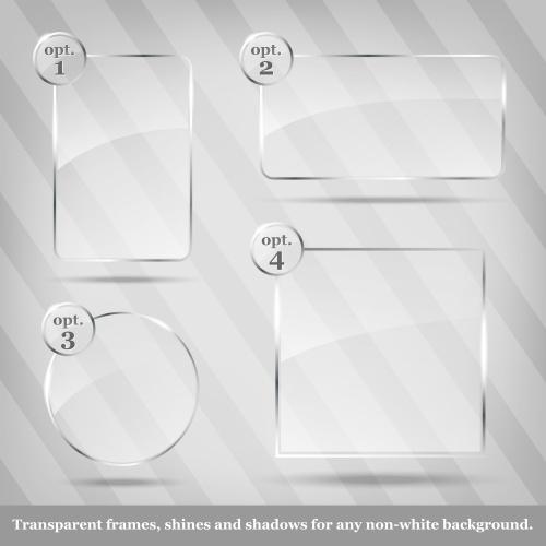 Стеклянные рамки 5 | Glass frames 5