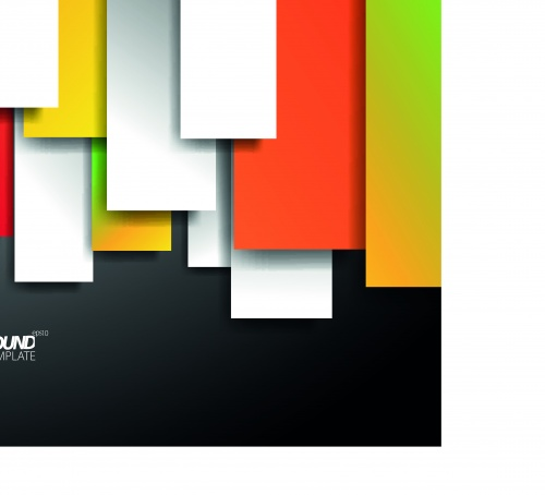 Цветные фигуры на векторном фоне часть 7 | Colored shapes vector backgrounds set 7