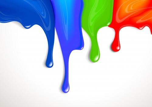 Яркие краски #1 - Векторный клипарт