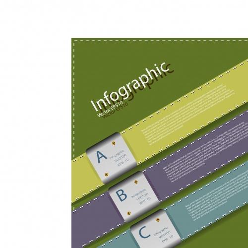 Инфографики креативный дизайн часть 4 | Infographic creative design vector set 4
