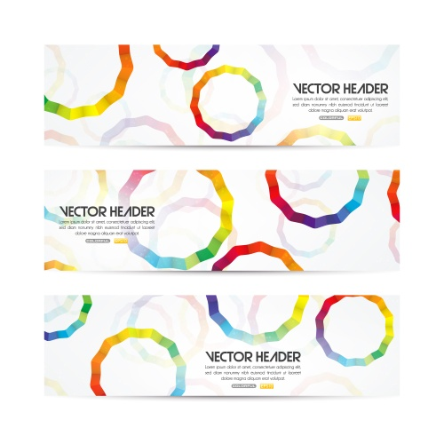 Banner Vector Set #19