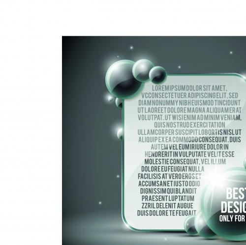 Глянцевые баннеры с местом для текста | Glossy banners speech bubble vector