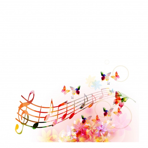 Musical Backgrounds Vector Set #4