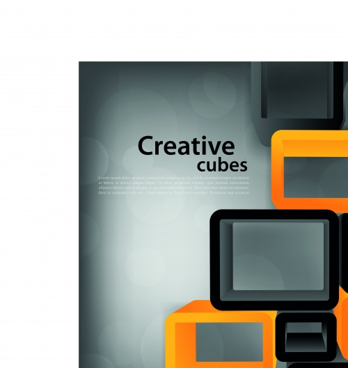 Жёлтое и чёрное среативные фоны | Yellow and black creative vector backgrounds