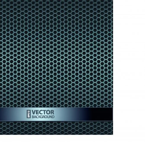 Metal Grill Vector Texture