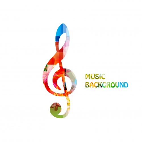 Musical Backgrounds Vector Set #3